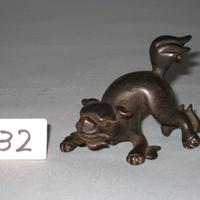 古銅獅子置物 [141232]