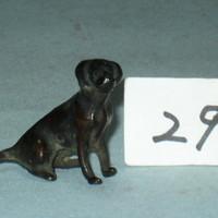 古銅犬置物[180829]